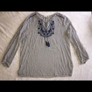omen's Old Navy Tunic Shirt Size Large